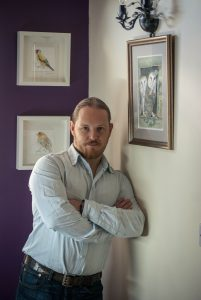 Darren Graham of Ephraim Art Studio In Gallery
